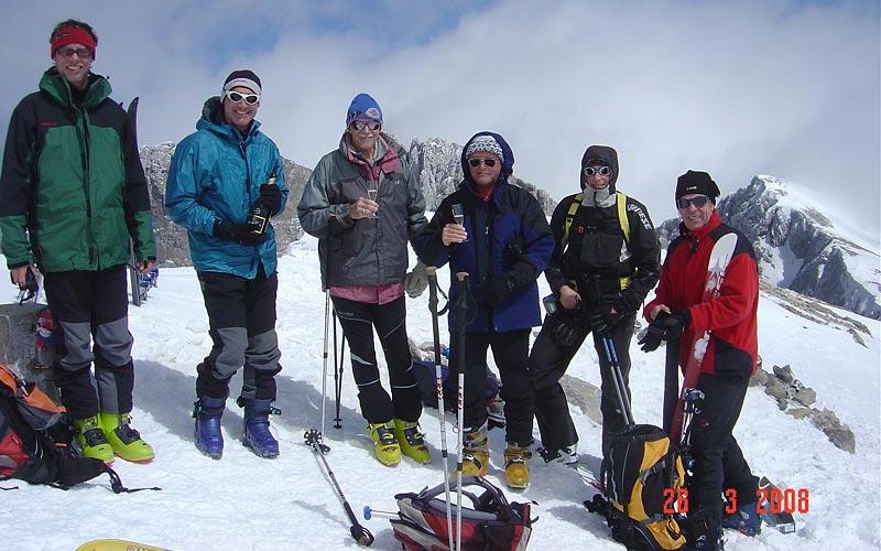 Skitouren Griechenland - Am Gipfel des Olymp