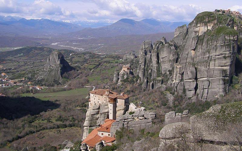 Meteoraklöster Skitouren in Griechenland auf Olymp und im Pindosgebirge