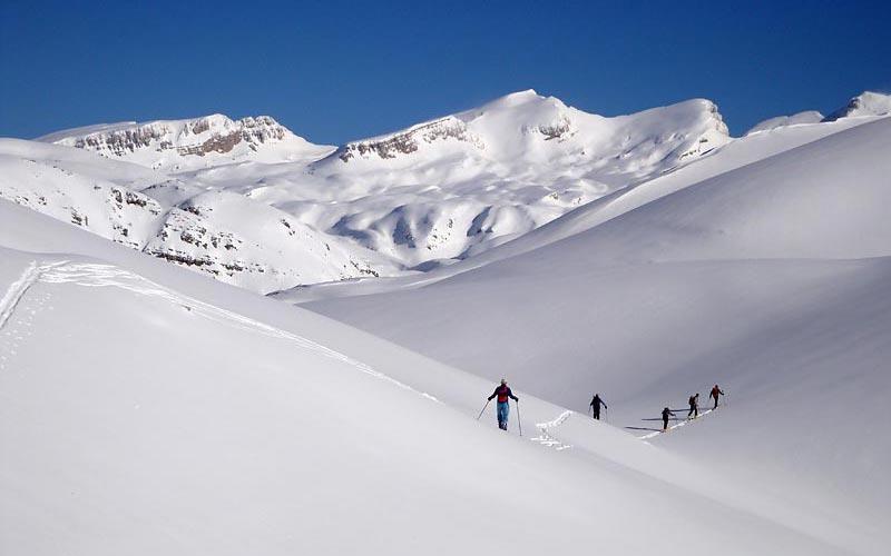 Skitouren Griechenland