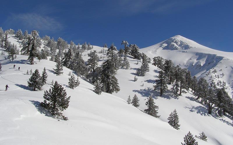 Smolikas Skitouren in Griechenland auf Olymp und im Pindosgebirge