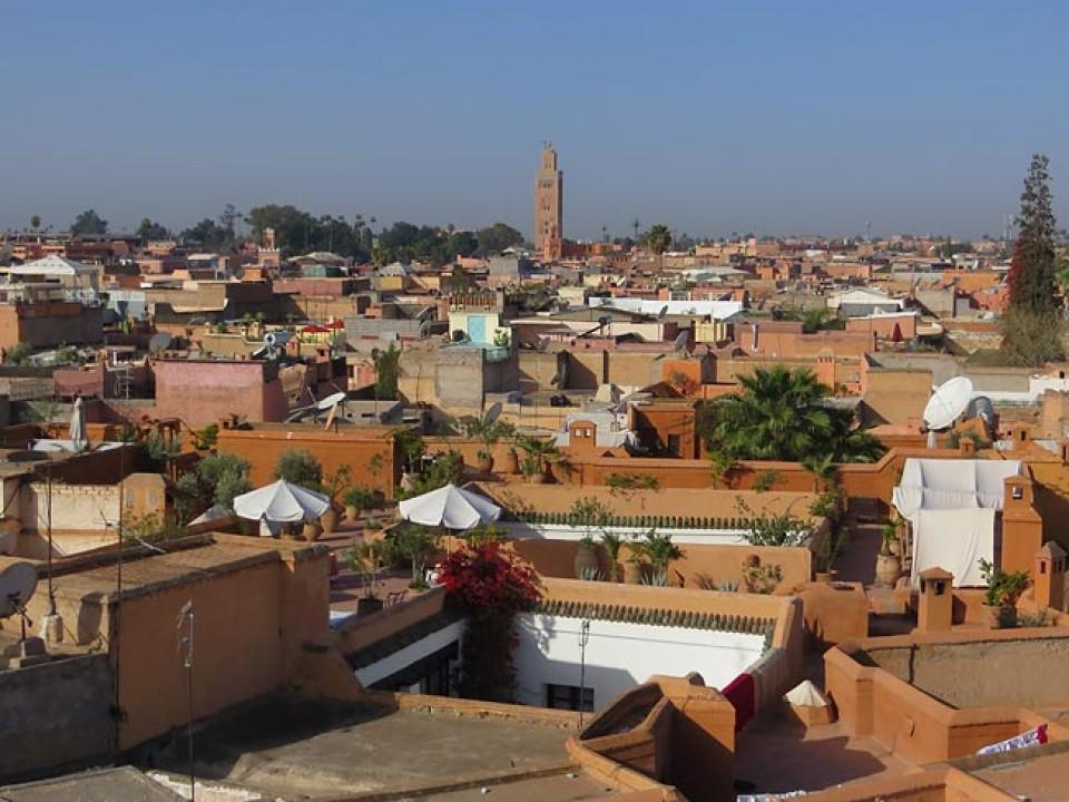 Skitouren Marokko - Über den Dächern von Marrakesch