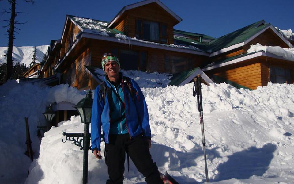 Hotel in Gulmarg Skitouren und Freeridereise Kaschmir