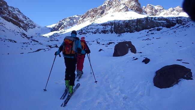 Jebel Toubkal - Skitourenreise nach Marokko