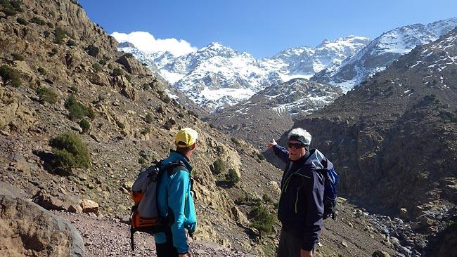 Toubkal Massiv - Skitourenreise nach Marokko
