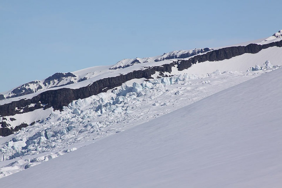 Hvannadalshnukur - Gletscherbeginn
