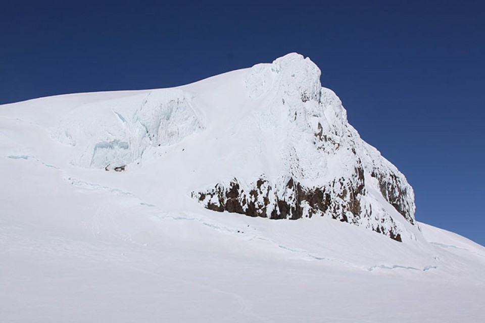 Der Gipfel des Hvannadalshnukur