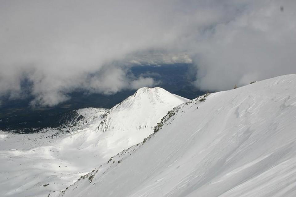 Skitouren Hohe Tatra - Aufstieg zum Slavkovsky
