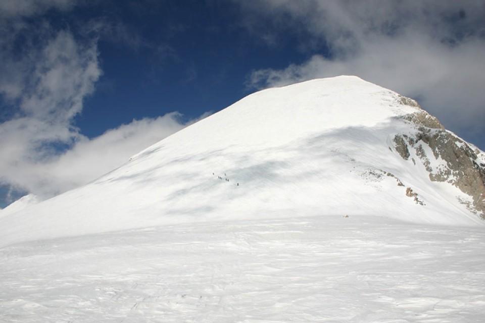 Skitouren Bulgarien - Kurz unter dem Gipfel des Vichren