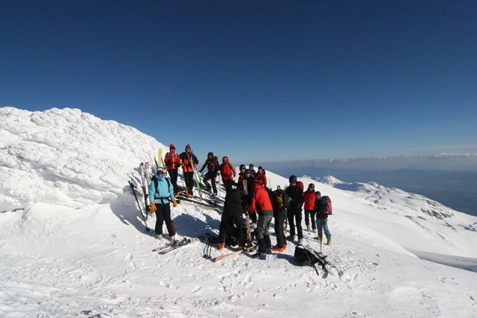 Auf dem Psiloritis - Skitourenreise Kreta