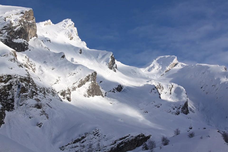 Skitouren Pyrenäen - Aufstieg zum Sanctus (2482m)