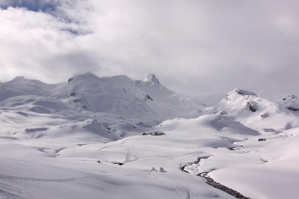 Skitouren Pyrenäen - Im cirque D´Oussau, Frankreich