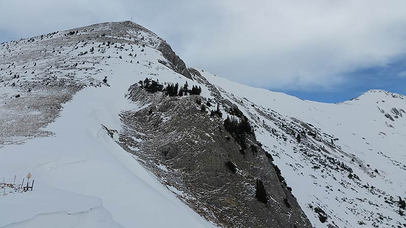 Gipfelhang Hinteres Sonnwendjoch