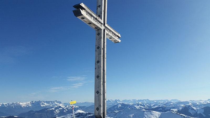 Gipfel des Lämpersberg