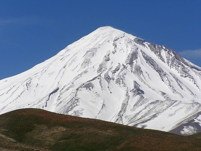 Skitouren Iran - Damavand