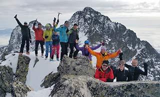 Skitourenreise Slowakei - Hohe Tatra