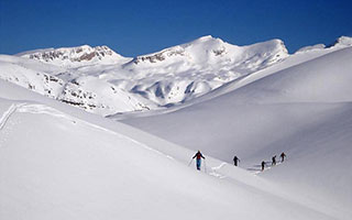 Skitourenreise Griechenland - Olymp & Pindosgebirge