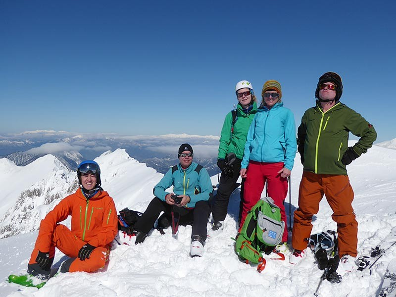 Gipfelglück im Pindosgebirge