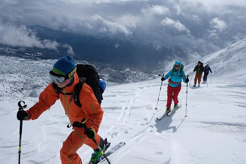 Skitouren im Pindos-Gebirge