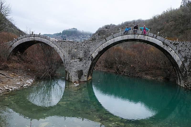 Zagoria Steinbrücke