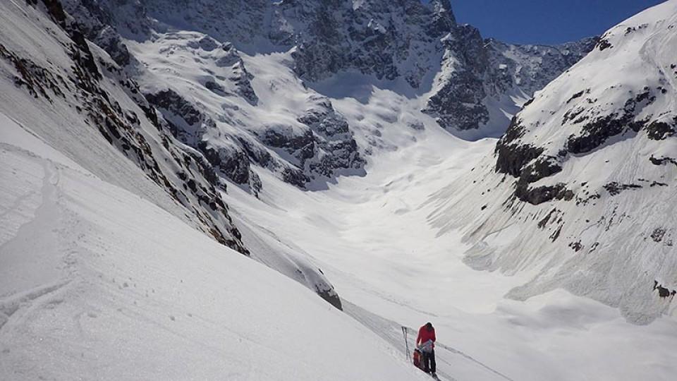 Kurz vor Gletscherende wird es nochmal unübersichtlich