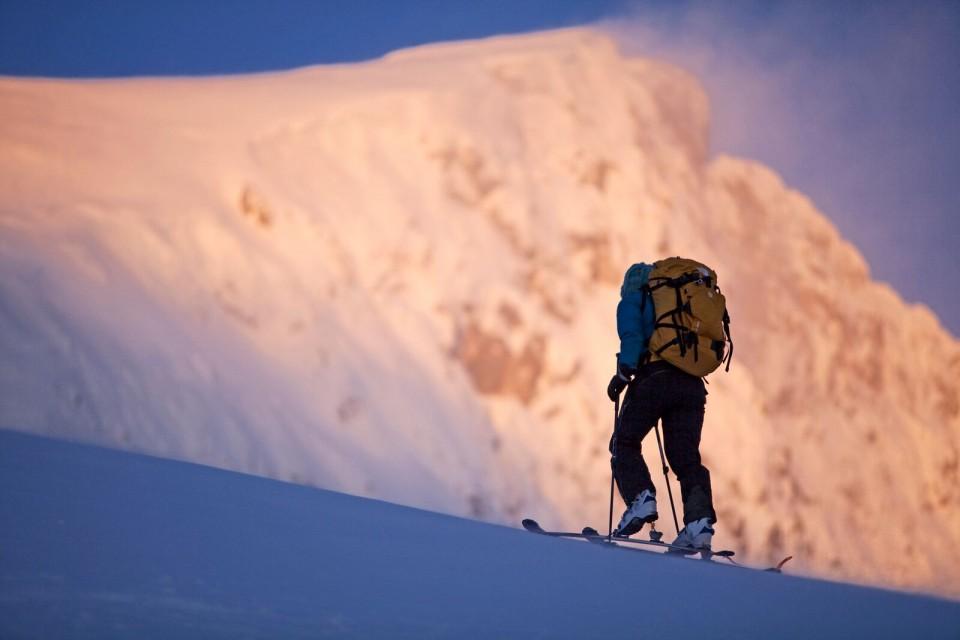 Auf Skitour in den Bergen von Montenegro