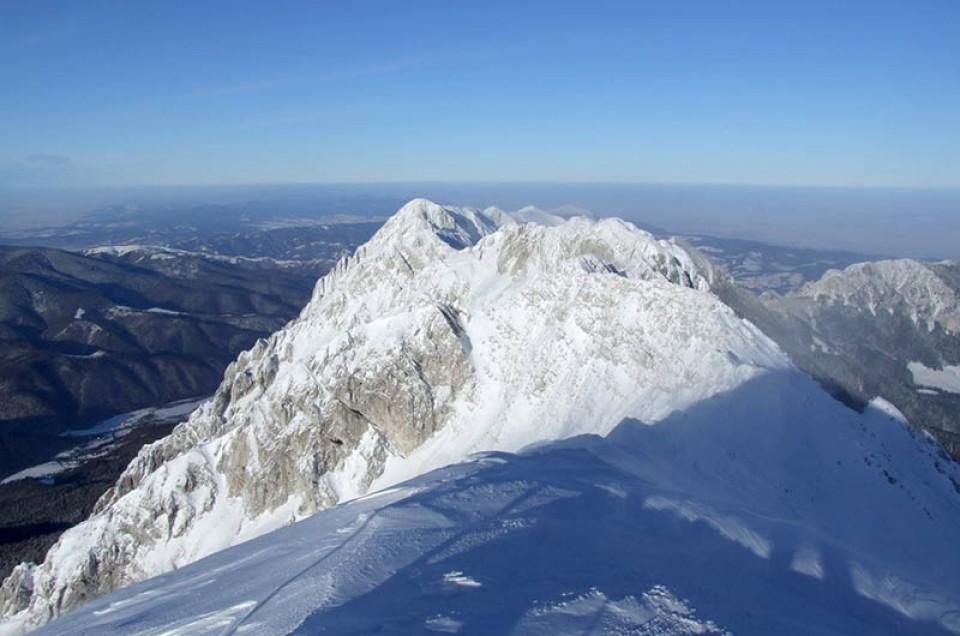 Königstein Gebirge in den Südkarpaten