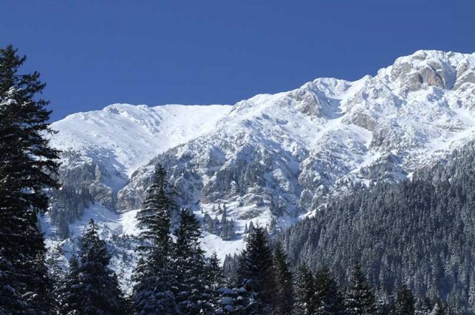 Skitouren Rumänien - Königstein Gebirge in den Südkarpaten
