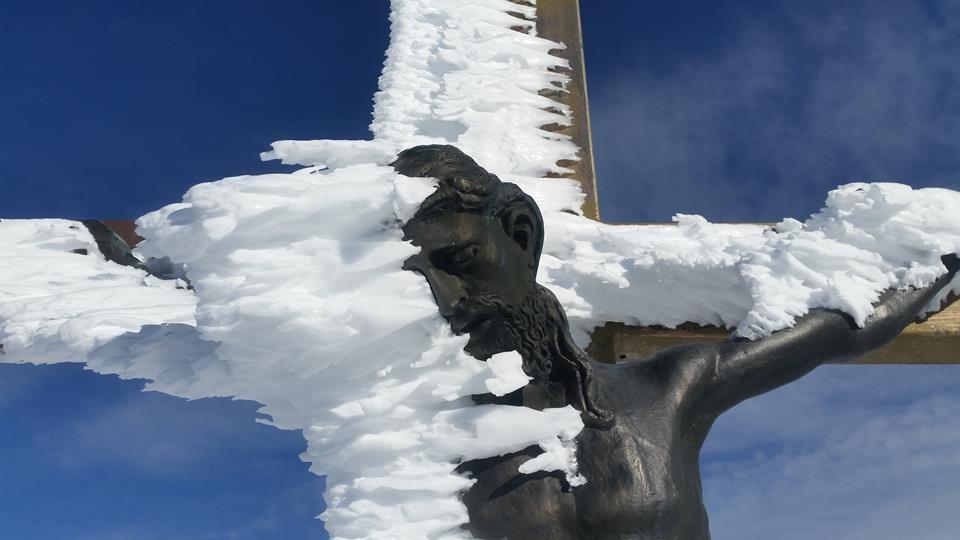 Gipfelkreuz auf dem Berchtesgadener Hochthron