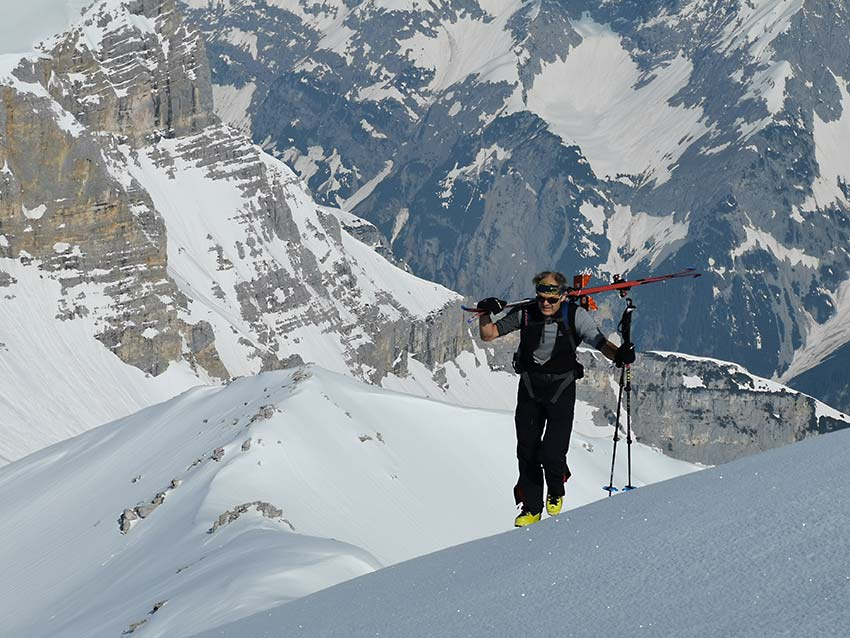 Die letzten Meter auf die Kleine Seekarspitze (2.624m)