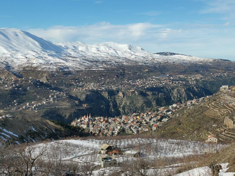 Skitourenreise Libanon