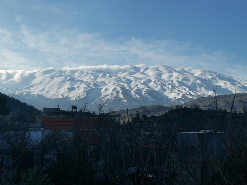 Skitourenreise Libanon Mount Hermon