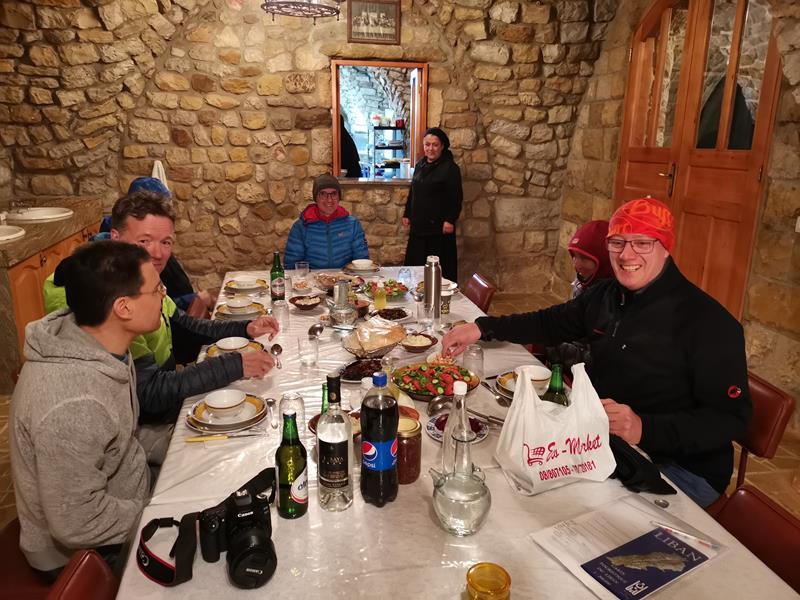 Skitourenreise Libanon Frauenkloster