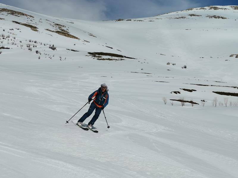 Libanon Skitouren Firnabfahrten